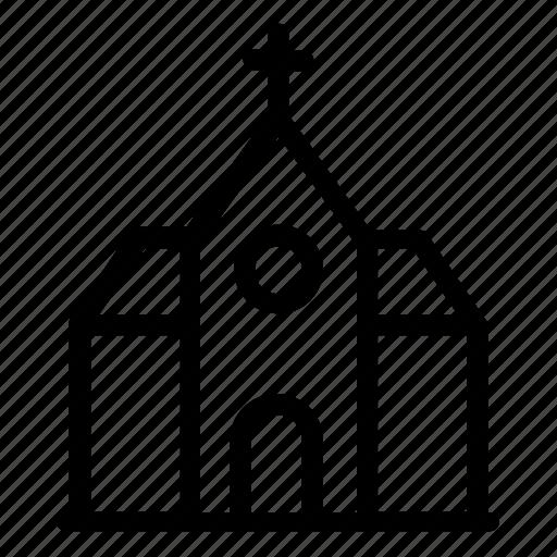 church exterior, faith, holy cross, spiritual, temple icon