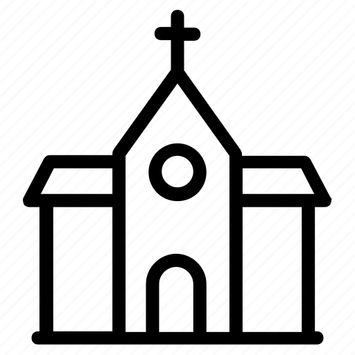 catholic church, church, faith, holy place, house of god icon