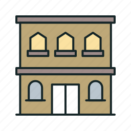 building, home, house icon, • apartment icon