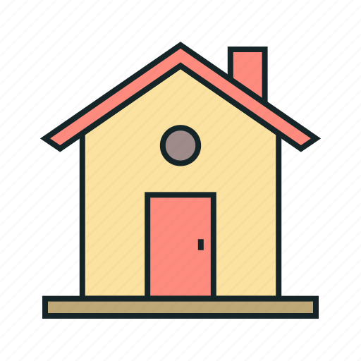 estate, home, house, property, real icon, • building icon