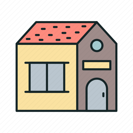 apartment, building, home, house icon icon