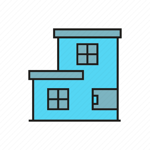 building, edifice, home, house, real estate, residence, tower icon