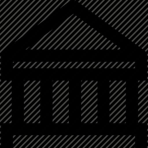 architecture, bank, building, construction, estate, house icon