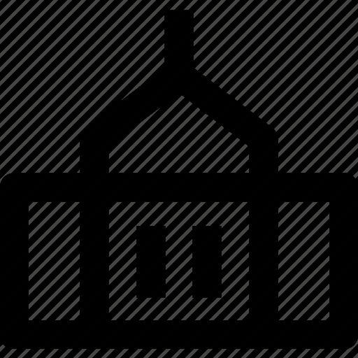 apartment, architecture, building, construction, estate, govement, house icon