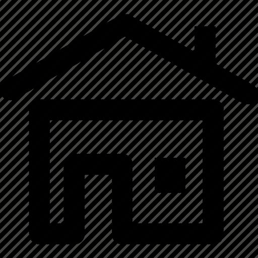 building, construction, estate, home, house icon
