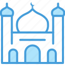 building, mosque, outline, set, shadow, vol icon