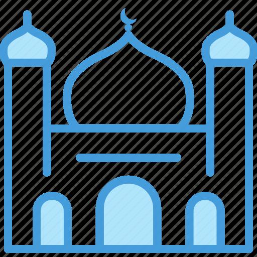 building, mosque, outline, set, shadow, vol icon