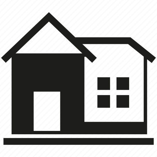 building, door, home, house, window icon