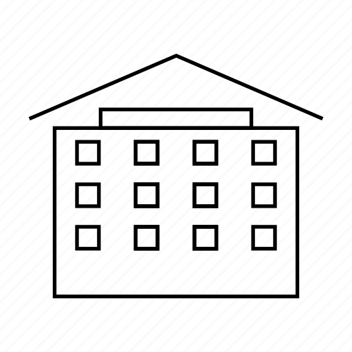 address, building, city, home, house, property, real estate icon