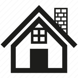 building, door, house, residence icon