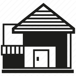 building, house, residence icon