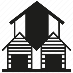 building, home, residence icon