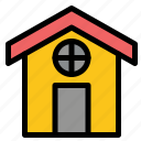 city, construction, house icon