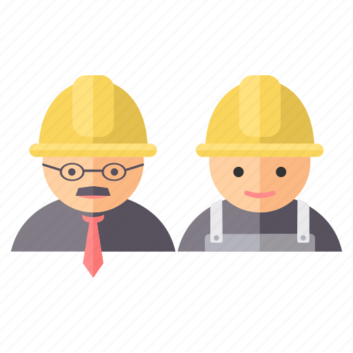 architect, builder, engineer, labour, mechanic icon