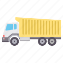 bus, construction, delivery, shipping, truck icon
