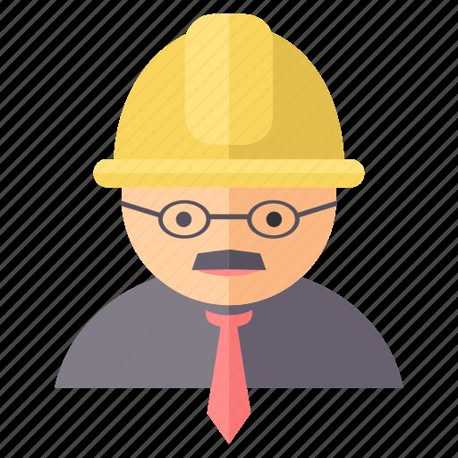 employee, engineer, mechanic, technician, worker icon