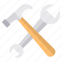construction, hand tools, repair, tools icon