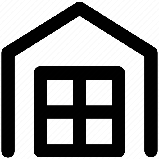 building, home, home construction, home window, house, house window, hut icon
