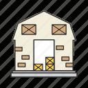 country, farmhouse, home, house icon