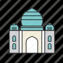 india, landmark, mahal, taj, taj mahal icon