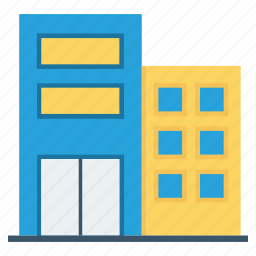 buildings, city, houses, real estate, town icon