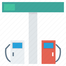 fuel, gas, pump, station icon icon