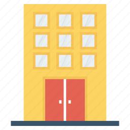 building, company, infrastructure, office icon icon