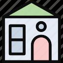 cottage, dwelling, house, lodging, villa icon