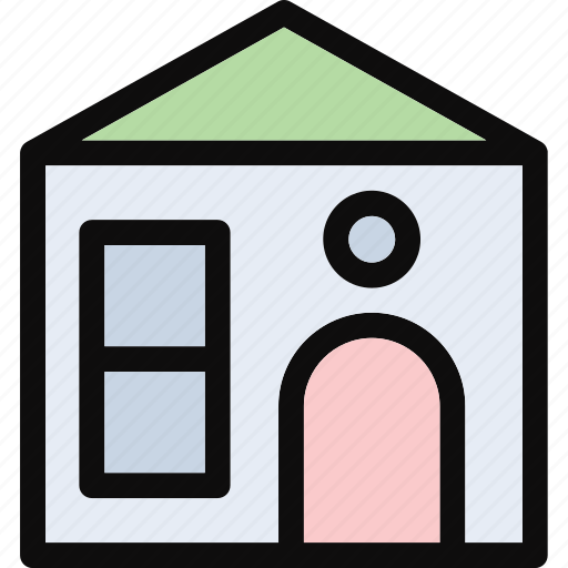 cottage, dwelling, house, lodging, villa icon