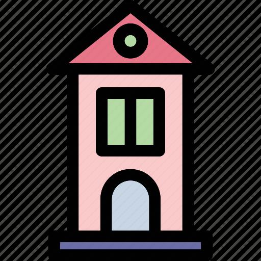 apartments, building, library, office, skyscraper icon