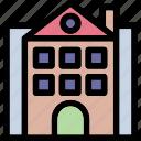 apartments, building, flats, real estate, skyscrape icon