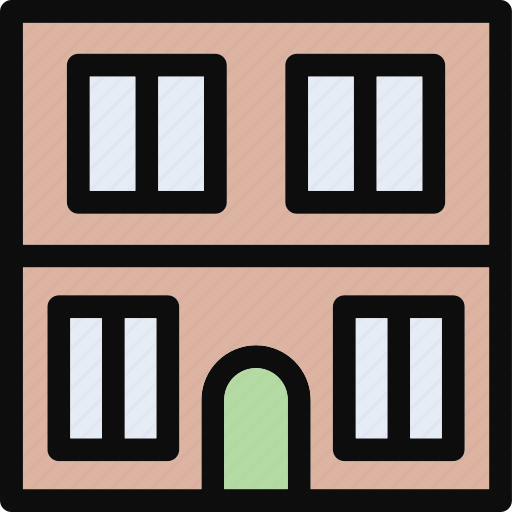 apartments, building, flats, office, real estate icon