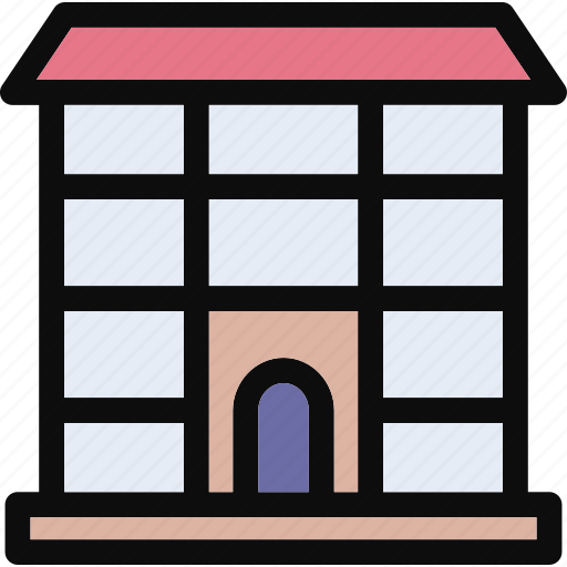building, home, house, hut, village icon
