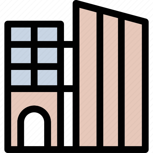 building, modern building, office, real estate, skyline icon