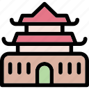 ancient, building, china, landmark, monument icon