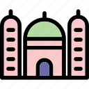 architecture, building, islamic, mosque, worship icon