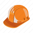 cartoon, construction, hat, helmet, industrial, work, worker