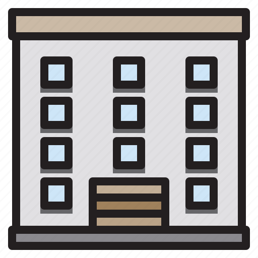 building, city, construction, home icon