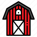 agriculture, barn, building, farm, house icon