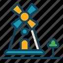 aerogenerator, mill, tower, windmill icon icon