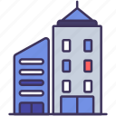 building, city, construction, place, skyscraper, urban, window icon