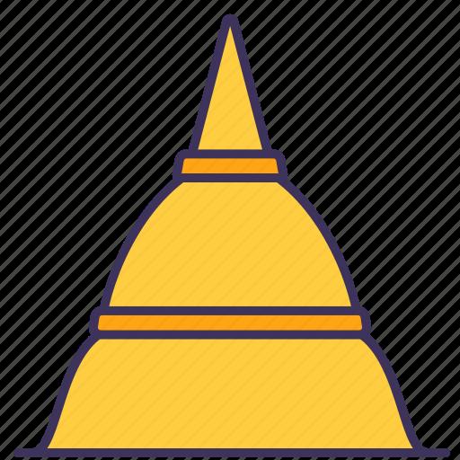 buddhist, building, construction, pagoda, temple, trevel, wat icon