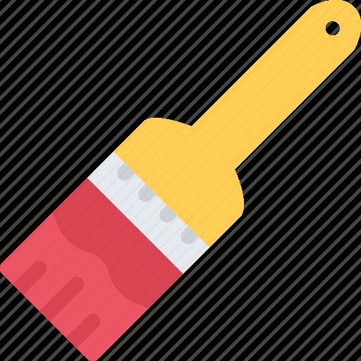 brush, builder, building, construction, repair icon