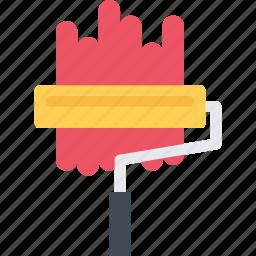 builder, building, construction, paint, repair, roller icon