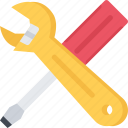 builder, building, construction, repair, screwdriver, wrench icon