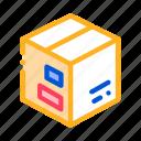 box, carton, transportation icon