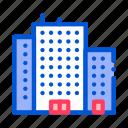 house, skyscraper, tenement icon