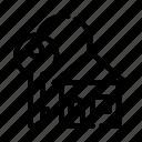 building, form, key, keyfob icon