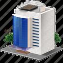 building, hospital, medicine icon