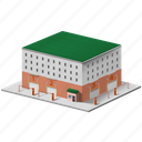 building, factory, industrial icon
